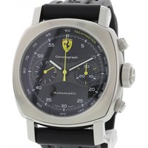 Panerai Men's  Ferrari Chronograph Stainless Steel F6656