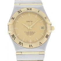 Omega Constellation Automatic 18K YG/SS 1202.10