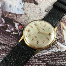 Cyma Vintage swiss watch Cyma manual winding Ref 30-109 18K...