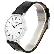 Patek Philippe Calatrava 18k White Gold Automatic Watch 5120