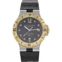 Bulgari Men's  Diagono Automatic SS & 18k Yellow Gold...
