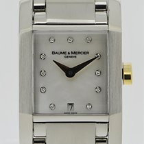 Baume & Mercier Hampton Lady Stahl/Gold Mother of Pearl...