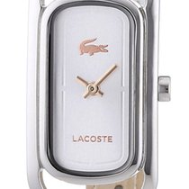 Lacoste Sienna Stainless Steel Womens Fashion Watch White...