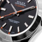 Rolex Milgauss SS Black Luminescent Dial - 116400 Model