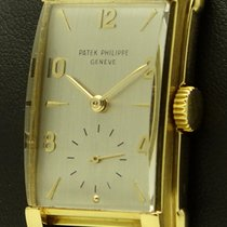 Patek Philippe Rectangular Vintage 18 KT Yellow Gold, from...
