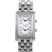 Longines DolceVita Mens DualTime  Quartz Watch L5.661.4.12.6