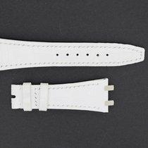 Audemars Piguet Lederband / Alligator / Weiß - 23/15,5 Länge...