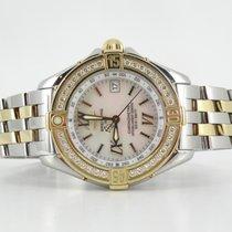 Breitling B class factory diamond bezel and MOP dial (full set)