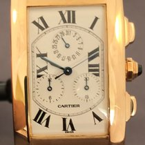 Cartier Tank Americaine Chrono Yellow Gold W2605856