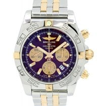 Breitling Chronomat 44 IB011012 44mm Burgundy 18k Rose Gold...