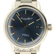 IWC Rare Ingenieur Vintage Blue Dial On Bracelet Automatic...