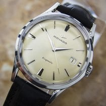 Movado Kingsmatic Subsea Automatic S.steel Mens 1960s Dress...