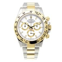 Rolex Cosmograph Daytona Gold And Steel White Automatic 116503WT