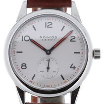 Nomos Club 40 Automatic Brown Leather