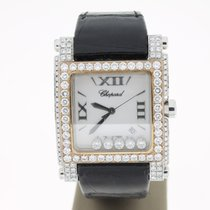 Chopard Happy Sport Square Quartz AftersetDiamonds  Steel/Rose...