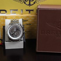 Breitling Bentley 18K White Gold J44362 Limited Edition Box...