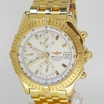Breitling Chronomat (Late) 18k Gelbgold Full Set