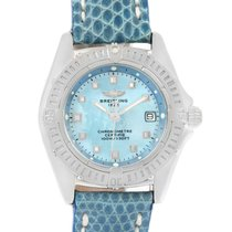 Breitling Callisto Blue Mother Of Pearl Dial Ladies Watch A72345