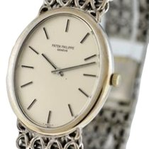Patek Philippe 3598/1 Vintage Oval ref 3598 in White Gold - On...
