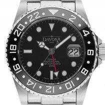 Davosa Ternos Professional GMT Diver Stahl Keramik schwarz...