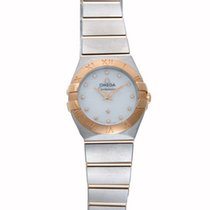 Omega Constellation Mother of Pearl Dial Ladies Watch 123.20.2...