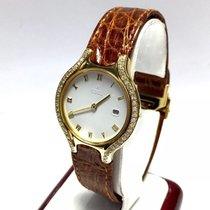 Ebel Beluga 18k Yellow Gold Ladies Watch W/ Diamonds &...