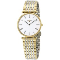 Longines L47092117 La Grand Classic Stainless Steel 18k Gold...