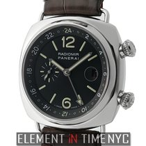 Panerai Radiomir Collection Radiomir GMT Steetl Black Dial JLC...
