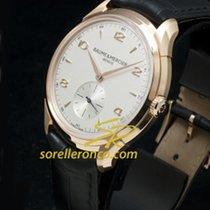 Baume & Mercier Clifton Gold Case Automatic Silver - 10060