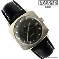 Elgin Square black dial automatic data 1970's
