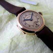 Revue vintage golden WW2 time watch, serviced