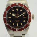 Tudor Heritage Black Bay/Red Bezel Burgundy Watch/ REF: 79220r