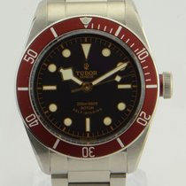 Tudor Heritage Black Bay/Red Bezel Burgundy Watch/ REF: 79220r