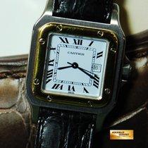 Santos De Cartier Half-gold Gent Automatic (near Mint)