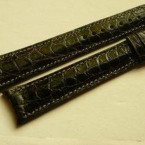 Urban Jürgensen genuine crocodile XL strap 20/16, black...