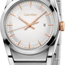 ck Calvin Klein STEP K6K33B46 Damenarmbanduhr Swiss Made