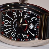 Franck Muller King Conquistador 18K Solid White Gold Automatic
