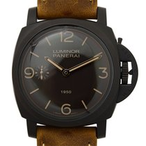 Panerai New  Luminor Composite複合材質 Black Manual Wind PAM00375
