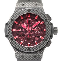 Hublot Aero Bang Red Carbon Chronograph Automatic Men's Watch...