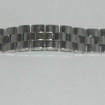 Baume & Mercier Stahl Armband Für Hampton Herren 18mm Top...