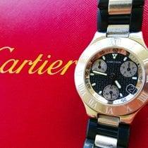 까르띠에 (Cartier) 21 Chronoscaph Eleganter Luxus Herren Chronogra...
