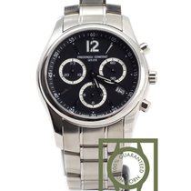 Frederique Constant Junior Chronograph Stainless Steel black...