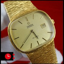 Omega DeVille PERFECT Condition 18k Gold