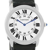 Cartier Ronde Solo Large Steel Silver Roman Dial Watch W6700255