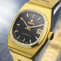 Rado Moncherie Swiss Made Ladies Automatic Gold Plated Dress...
