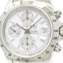 Tudor Polished  Chrono Time Prince Date Tiger Chronograph...