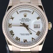 Rolex Day-Date 36MM President Pink Gold, Full Set 2012 MINT...