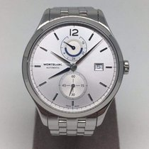 Montblanc Heritage Chronometrie Dual Time Automatic Steel...