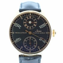 Sinn Regulateur Ref.: 6100 - Box/Papiere - Rosegold LIM TEW