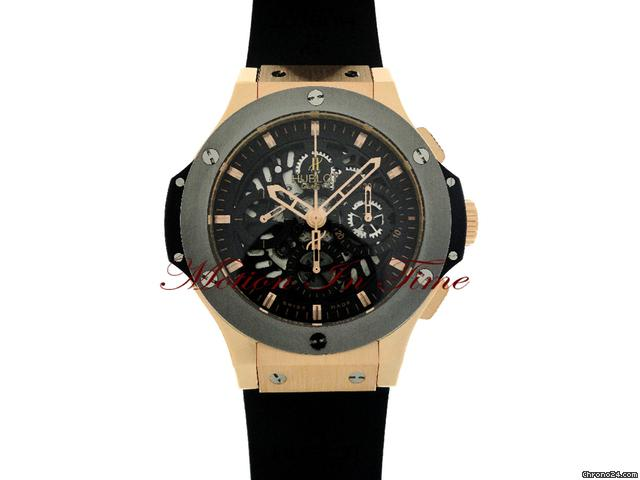Hublot BIG BANG &amp;#34;AERO BANG&amp;#34; SKELETON ROSE GOLD LIMITED 500 PIECES